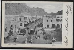 Yemen - Aden - Main Street - Hotel De L'Europe - Benghiat & Son - Yémen