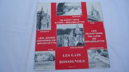 18 Août 1979 - Avon - Brugelette - Les Gais Rossignols - 45 Rpm - Maxi-Single
