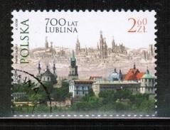 PL 2017 MI 4904 700 Years Of City Lublin USED - 1944-.... République