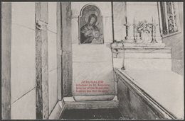 Interieur De St Sepulcre, Jerusalem, C.1905-10 - CPA - Israel