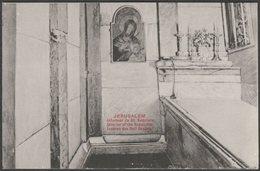 Interieur De St Sepulcre, Jerusalem, C.1905-10 - CPA - Palestine