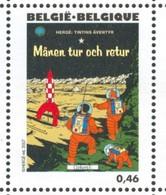 18/08  Belgique XX Herge Tintin On A Marche Sur La Lune Moon - Stripsverhalen