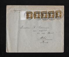 HEIMAT WAADT →  1915 Brief Galerie St.Francois Lausanne Nach Albi/Frankreich  ►SBK-5x132◄ - Schweiz