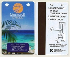 United States / USA Hotelkarte Keycard Aus Honolulu / Hawaii / USA - Hotel Keycards