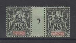 Océanie  établissement  _  1  Millésimes 1907  N°23 - Oceanië (1892-1958)