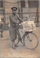 "0212 ""LA STAMPA - TORINO - VENDITORE DI GIORNALI - NEWSPAPER SELLER - VENDEUR DE JOURNAUX"" ANIMATA. FOTO ORIG. - Métiers"