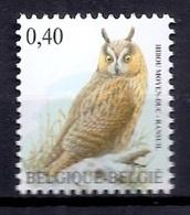 BELGIE * Buzin * Nr 3737 * Postfris Xx * HELDER WIT  PAPIER - 1985-.. Oiseaux (Buzin)