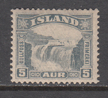 Iceland MNH Michel Nr 150 From 1931 / Catw 35.00 EUR - Ongebruikt
