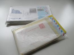 Frankreich Posten GA / Aerogramme Karten 70er Jahre - 2002 Mit € GA Insgesamt 75 Stück Auch Umschläge. Ungebraucht - Lots Et Collections : Entiers Et PAP