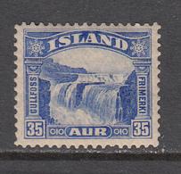 Iceland MNH Michel Nr 152 From 1931 / Catw 35.00 EUR - Ongebruikt