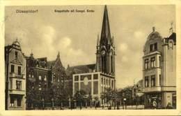 DUSSELDORF / KRUPPSTRABE MIT EVANGEL KIRCHE / A 226 - Duesseldorf