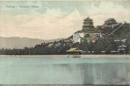 Pays Div : Ref M346- Chine - China - Peking - Pekin - Summer Palace  - Carte Bon Etat - - Chine