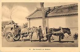 Pays Div : Ref M344- Chine - China - Missions Franciscaines - En Tournée De Mission  - Carte Bon Etat - - Chine