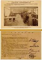 L'école Universelle, Paris 16e, Imprimé , Salle Des Services Administratifs - Vieux Papiers