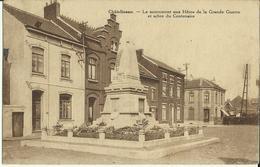 Châtelineau -- Le Monument Aux Héros De La Grande Guerre Et Arbre Du Centenaire.   ( 2 Scans) - Châtelet