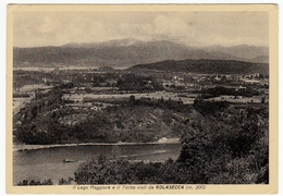 IL LAGO MAGGIORE E IL TICINO VISTI DA GOLASECCA - VARESE - Varese
