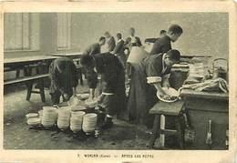 Pays Div : Ref M340- Corée - Wonsan - Apres Le Repas La Vaisselle -oeuvre De Saint Pierre Apotre - Carte Bon Etat  - - Corée Du Sud