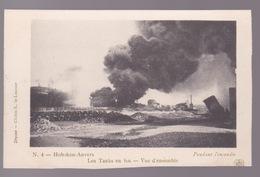 CPA   HOBOKEN  L'Incendie D'Hoboken 26Aout 1904  Carte N°1 - Catastrophes