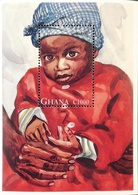 Ghana 1996 UNICEF 50th. Anniv. S/S  POSTAGE TO BE ADDED ON ALL ITEMS - Ghana (1957-...)