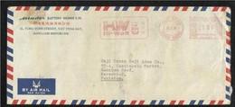 Hong Kong China 1976 Slogan Meter Mark Air Mail Postal Used  Cover  HongKong To Pakistan - Unclassified