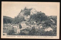 LAROCHETTE  RUINES DU CHATEAU - Larochette