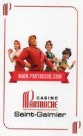 Carte De Visite : Casino Partouche à Saint Galmier (42) - Cartes De Visite
