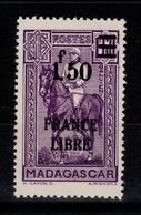 Madagascar - France Libre YV 261 N* - Madagascar (1889-1960)