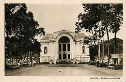 Pays Div : Ref M328- Viet Nam - Vietnam - Saigon - Theatre Municipal  - Carte Bon Etat - - Viêt-Nam
