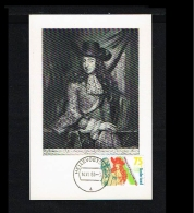1988 - Max.cards Zegelkoerier 12 - Willem III And Mary Stuart [KD034] - Maximumkaarten