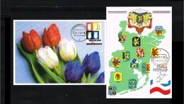 1992 - Max.cards Zegelkoerier 8 And 9 - World Exhibition Expo 92 In Sevilla [KD071] - Maximumkaarten