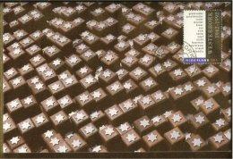 1992 - Max.cards Zegelkoerier 21 - 50 Years Camp Westerbork [KD078] - Geschiedenis