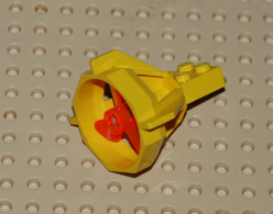 Lego Reacteur Jaune + Helice Orange  Ref 6040 6041 - Lego Technic