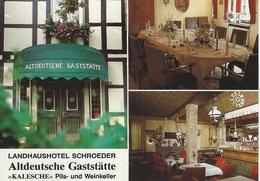 """Landhaushotel Schroeder.  """"Kalesche""""  Altdeutsche Gaststätte.  Germany.  # 07779 - Hotels & Restaurants"""