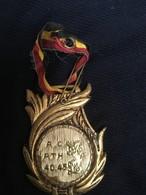 ATH - Médaille A C 40-45 Avec Ruban - Militaria