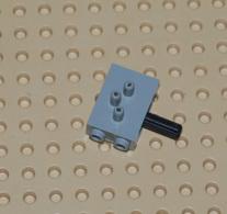 Lego Commutateur Pmeumatique Gris Ref 4694c01 - Lego Technic