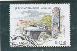 FRANCE 2014 LOCMARIAQUER OBLITERE YT 4882 -                    -                   TDA24A - France