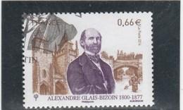FRANCE 2014 ALEXANDRE GLAIS BIZOIN OBLITERE YT 4842   ---                            TDA24A - France