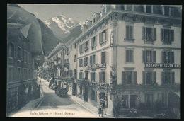 INTERLAKEN  HOTEL KREUZ - BE Berne
