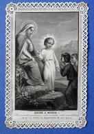IMAGE PIEUSE CANIVET      ED.  BOUASSE LEBEL   MARIE ET JESUS     SANTINI - Imágenes Religiosas