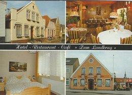 "Hotel - Restaurant - Café. ""Zum Landkrug"".  Kappeln. Germany.   # 07781 - Hotels & Restaurants"