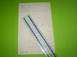 Militaria: Lettre De L' Hospice Civil Et Militaire De Salon De Provence, Tampon Au Dos.1883 - Documentos Históricos
