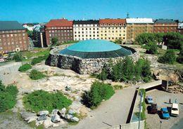 1 AK Finnland * Temppeliaukio-Kirche - Blick Auf Die Moderne Felsenkirche In Helsinki * - Finland