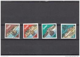 Ghana Nº Michel 306B Al 309B SIN DENTAR - Ghana (1957-...)