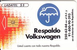 MEXICO - Volkswagen, Tirage 50000, 12/96, Used - Mexico