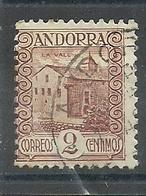 ANDORRA CORREO ESPAÑOL  SELLOS Nº 28 USADO (S.1.C.08.18) - Andorre Espagnol