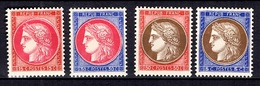 France YT N° 348/351 Neufs *. B/TB. A Saisir! - France