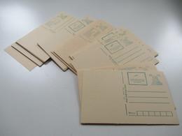 Indien Posten Ganzsachen / Karten Auch Verschiedene Zudrucke Insgesamt 48 Stück!.Ungebraucht - Ganzsachen