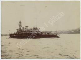 Bateau De Guerre à Brest Vers 1900 . - Boats