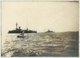 Bateaux De Guerre à Brest Vers 1900 . - Boats