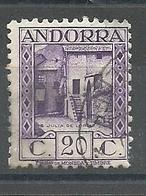 ANDORRA CORREO ESPAÑOL  SELLOS Nº 34 USADO (S.1.C.08.18) - Andorre Espagnol